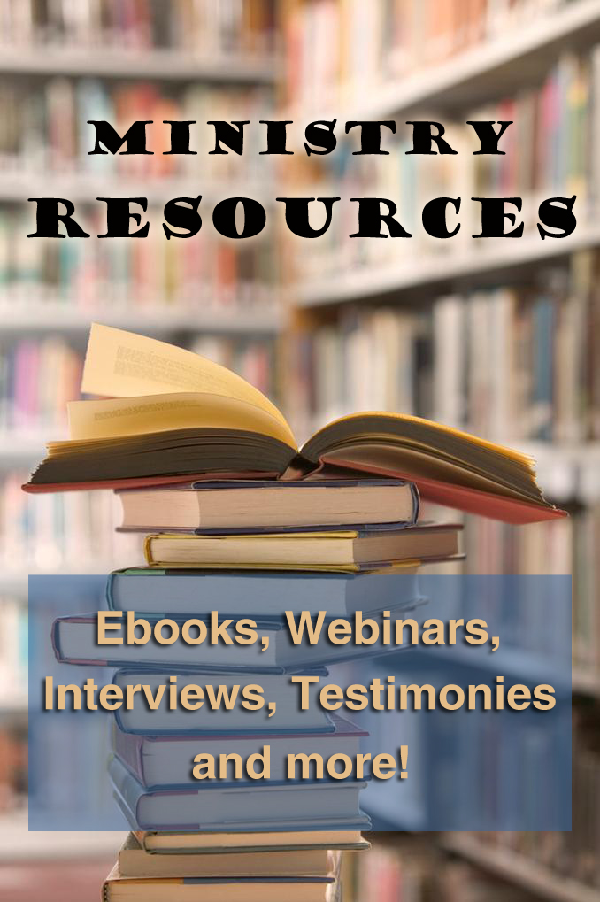 Resources for pastors, missionaries, and families